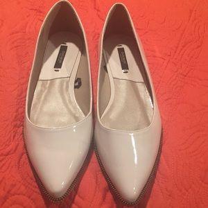 Zara Basic Cream Flats